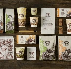 Muffin Break Packaging